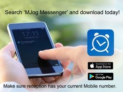 Search 'MJog Messenger' and download today!